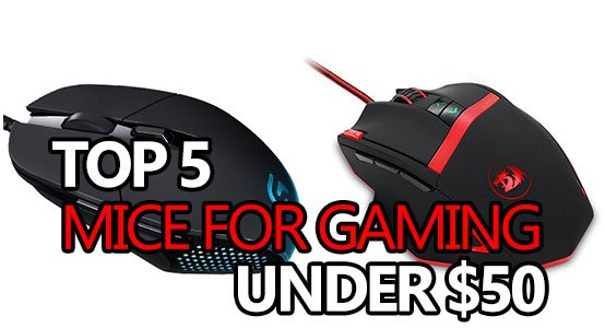 best gaming mice under 50