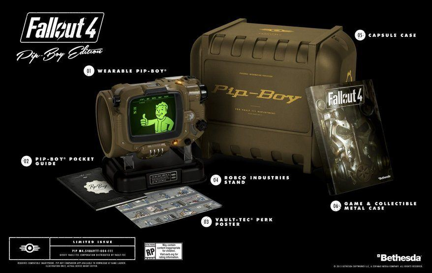 fallout 4 pip boy edition sold out