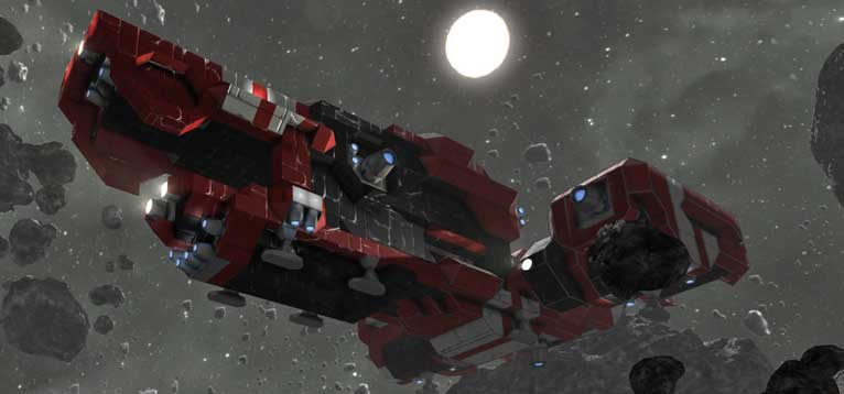 space engineers review red ship
