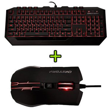 cm storm keyboard mouse combo
