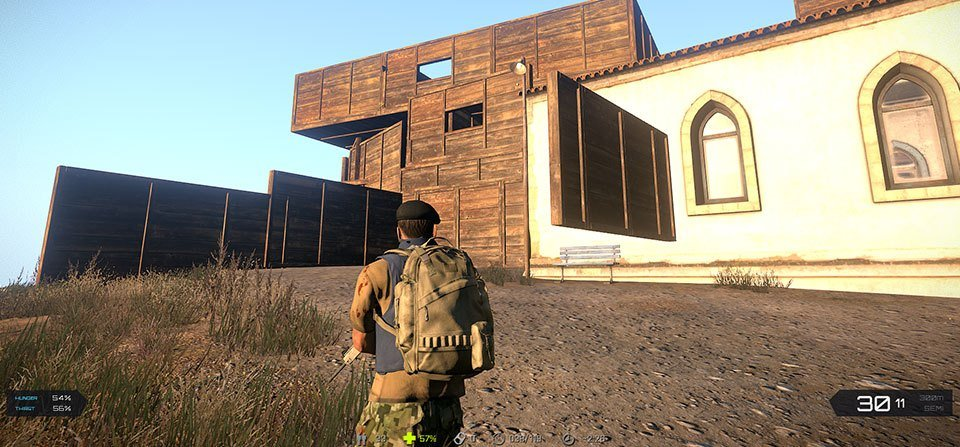 arma 3 exile mod base building