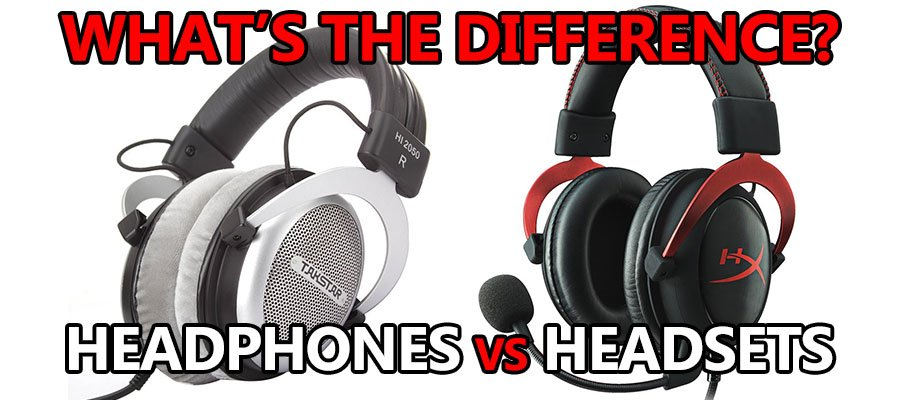 headset vs headphones whats the difference