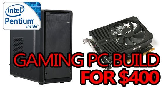 best budget gaming pc build 400 featured image
