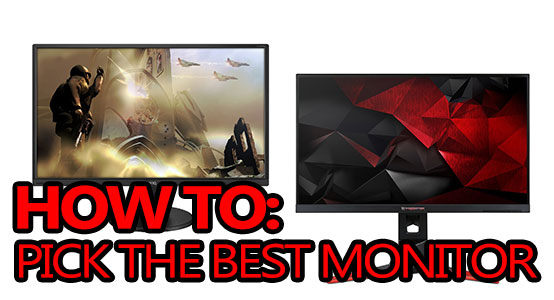 how to pick the best monitor for gaming featured image