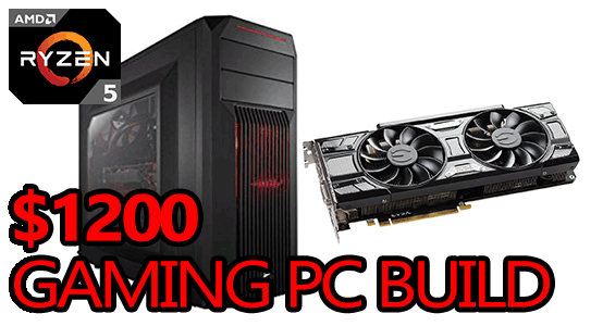 1200 best gaming pc build featured image