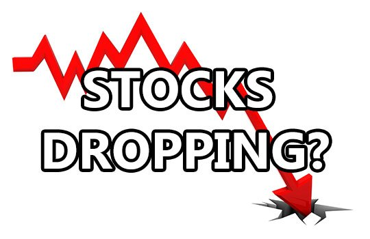 2018 stocks dropping