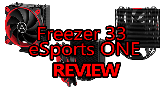 arctic freezer 33 esports one review