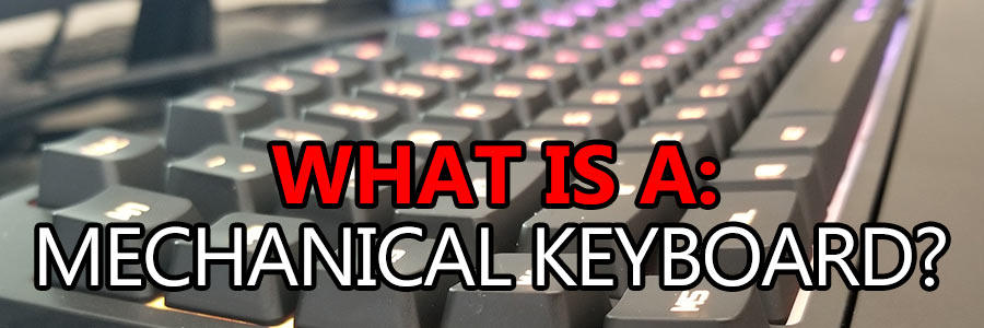 what is a mechanical keyboard featured image