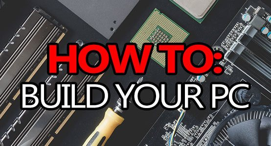how to build your gaming pc