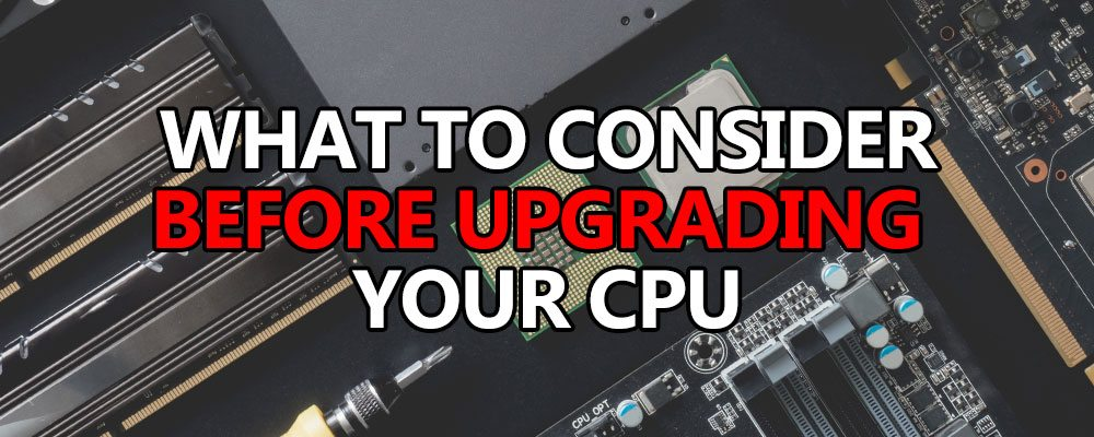 upgrade cpu