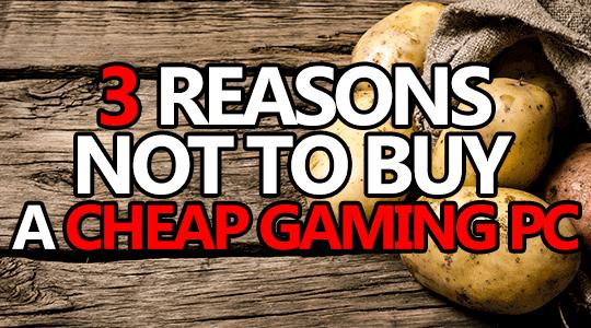buy cheap gaming pc