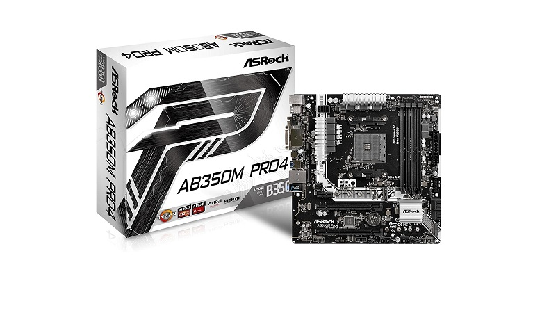 ASRock AB350M PRO4 Motherboard