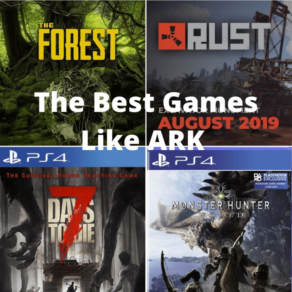 best games like ARK
