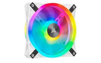 Corsair QL Series iCUE QL120 White RGB Fan Review