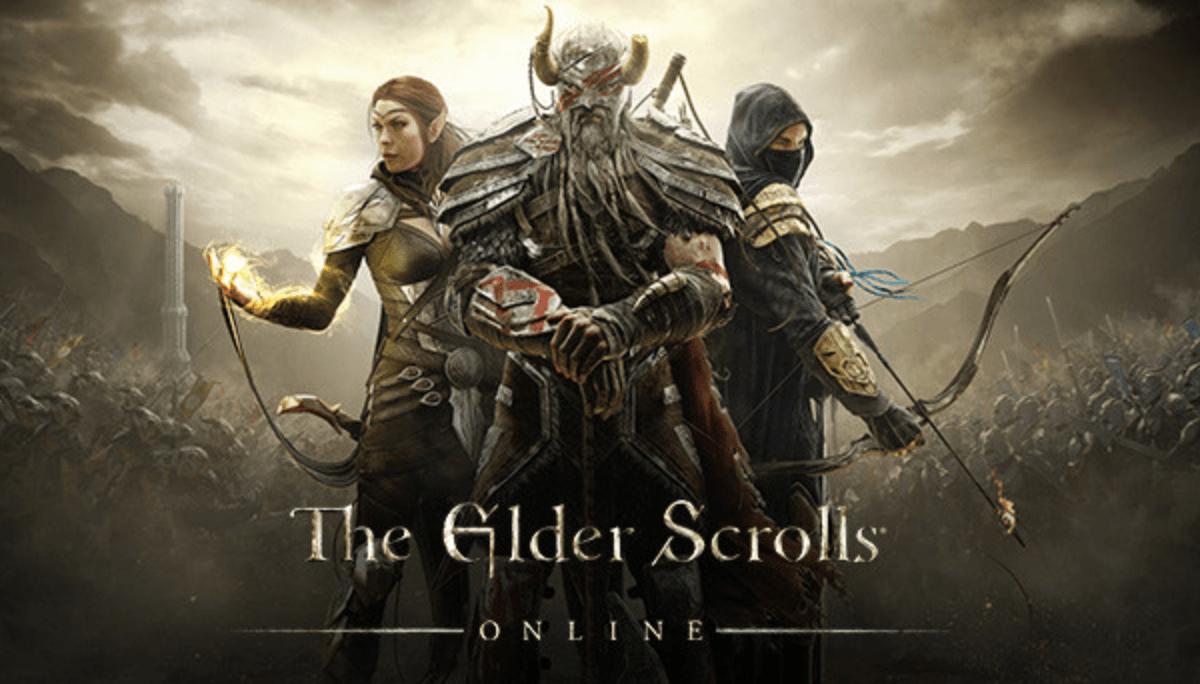 3 warriors on elder scrolls cover