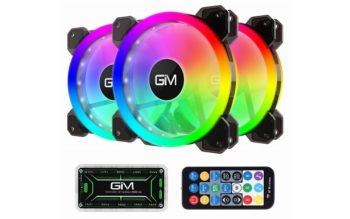 GIM KB-23 RGB Case Fans Review