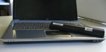 Laptop and its battery
