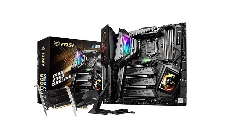 MSI MEG Z390 GODLIKE LGA1151 Extended ATX Z390 Gaming Motherboard
