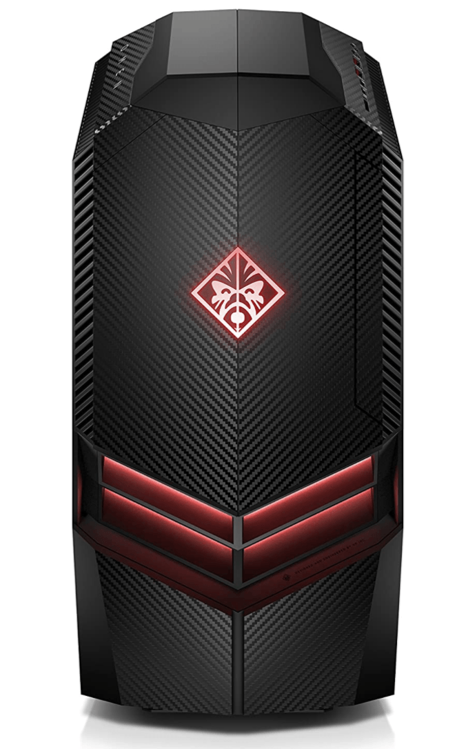 black gaming computer by omen hp gaming