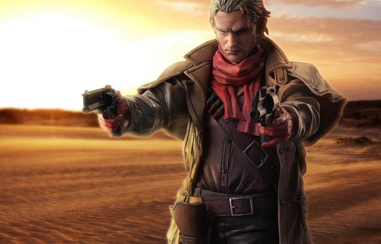 Revolver Ocelot from Metal Gear Solid