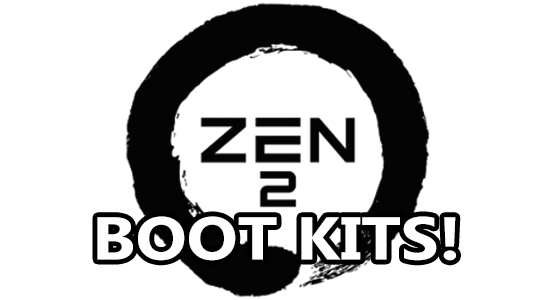 amd zen 2 boot kits