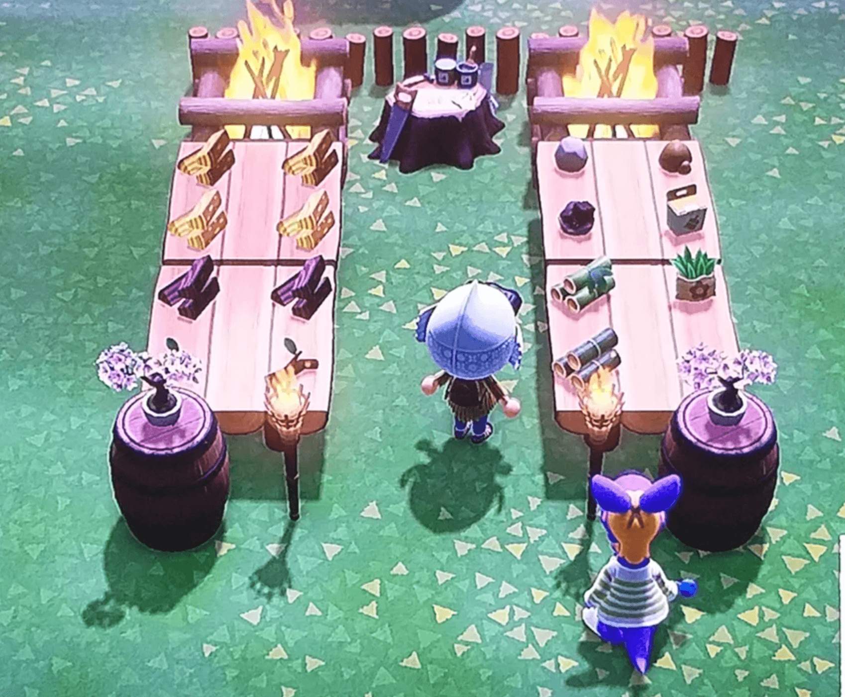2 crafting tables