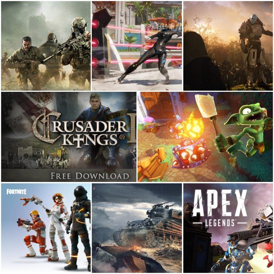 top games collage