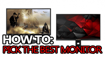 how to pick the best monitor for gaming