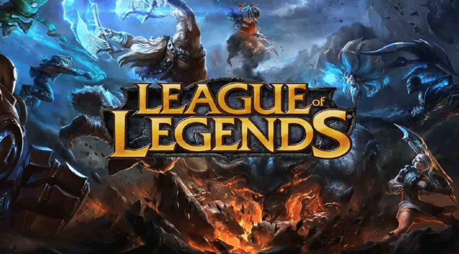 league of legends with champions in back