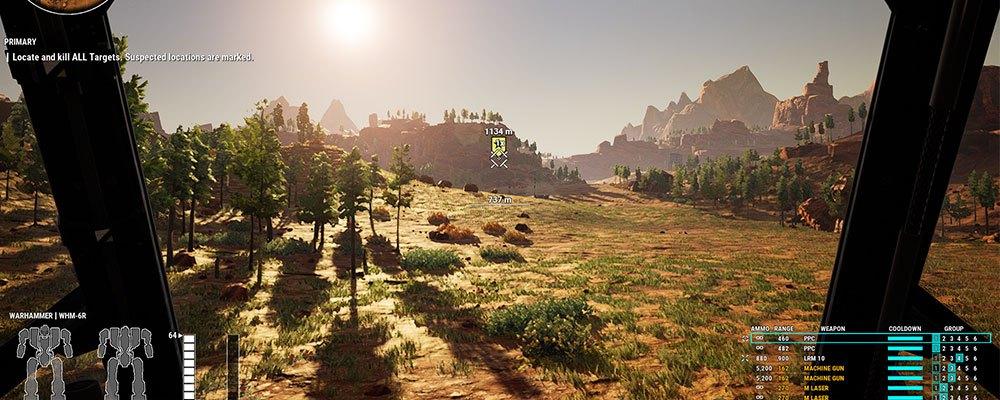 mechwarrior 5 scenic