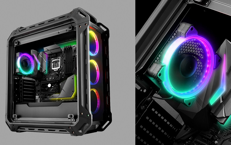 can rgb fans be turned off