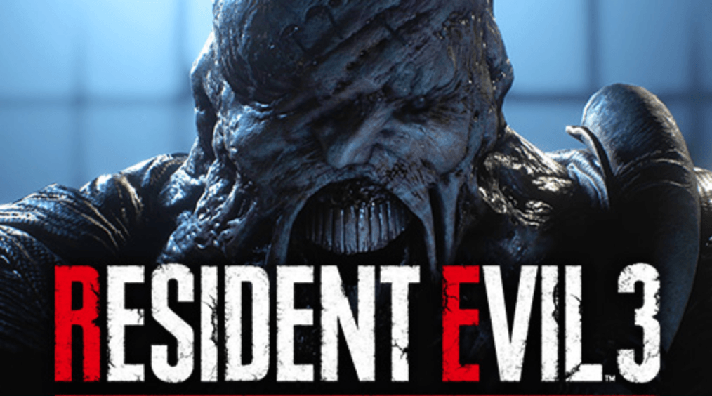 resident evil showing monster zombie