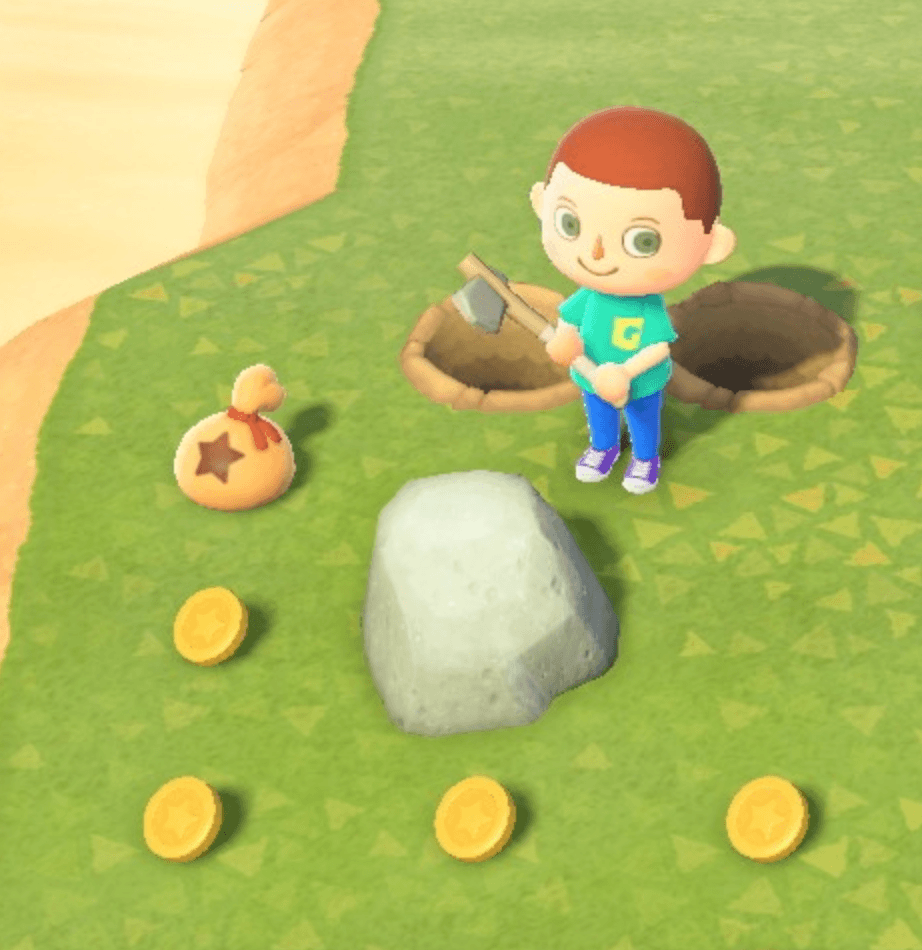 getting resources from rocks