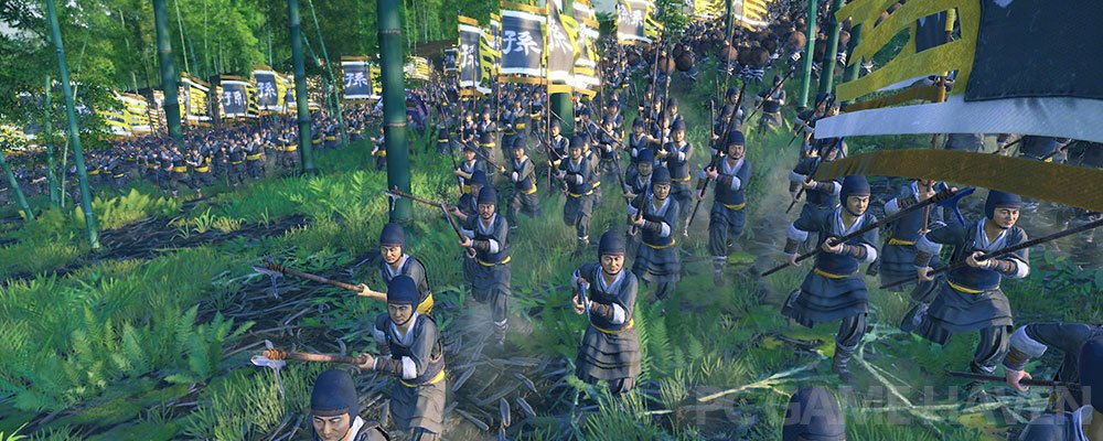 total war three kingdoms bamboo forest
