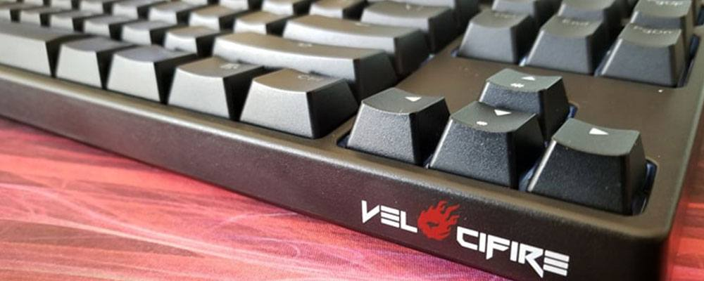9a9680bfd24 Velocifire's TKL02 is a well-priced wireless keyboard with mechanical  switches and a tenkeyless (80%) layout. But, that doesn't automatically  mean it's ...