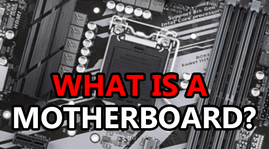 what is a computer motherboard
